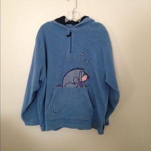 Disney Eore Blue Hooded Sweatshirt